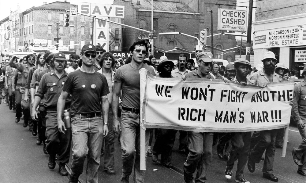 Protesting in the streets of America